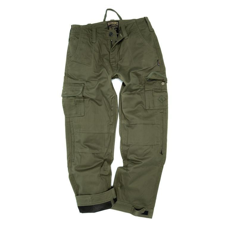 Resurgence Gear Inc. - Resurgence Gear® Cruiser PEKEV® Green Men's Cargo Trousers - Men's Trousers - Salt Flats Clothing