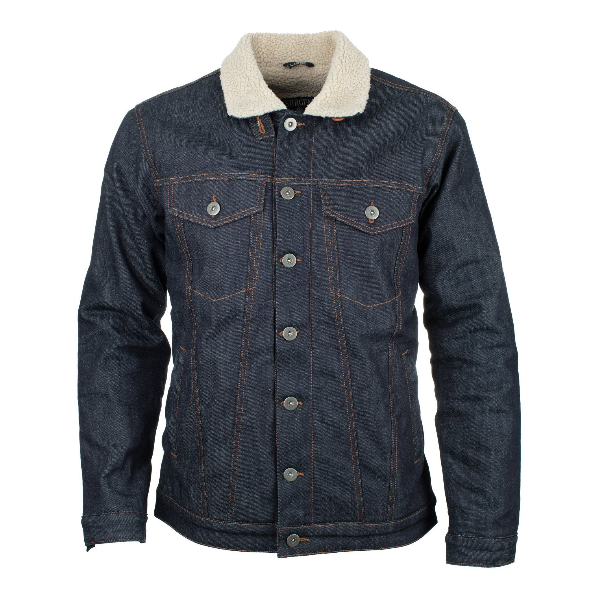 Lee Sherpa Jacket Giacca in Jeans Uomo