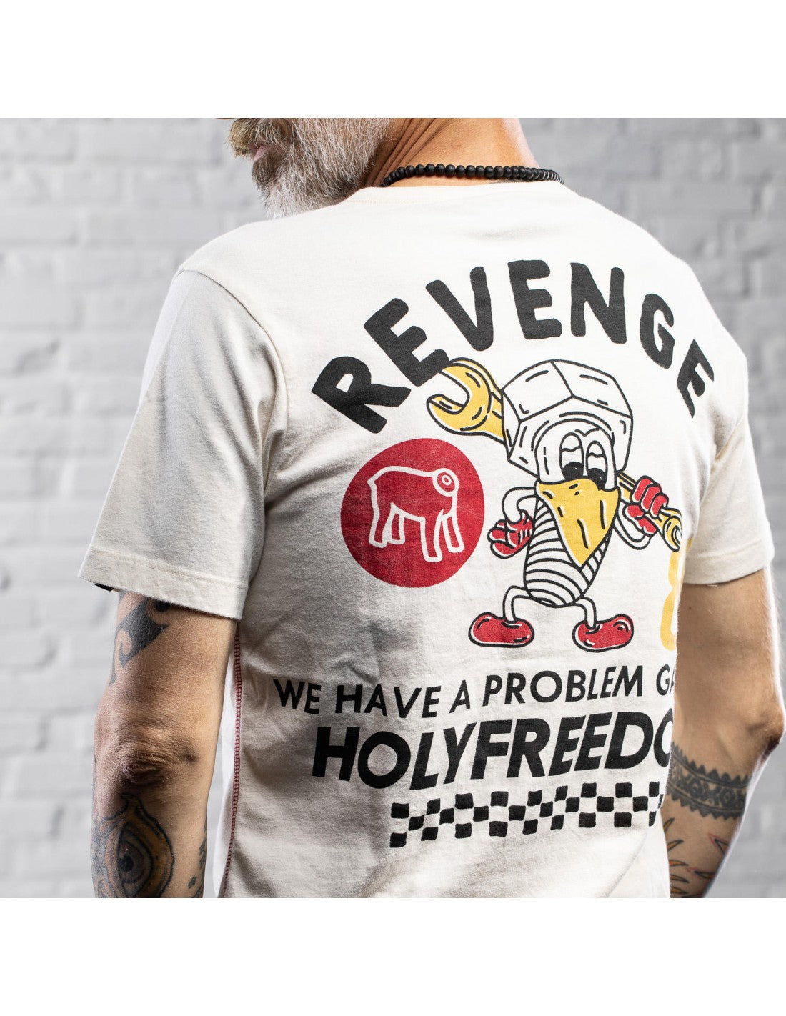 Holy Freedom Revenge Short Sleeve T'Shirt