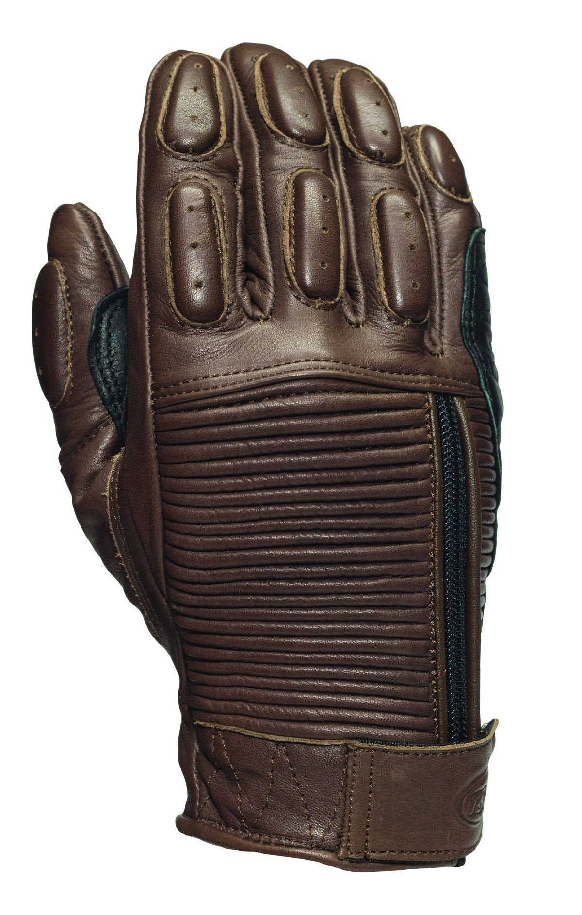 Roland Sands Design - Roland Sands Design Dezel (Diesel) Gloves - Tobacco - Gloves - Salt Flats Clothing