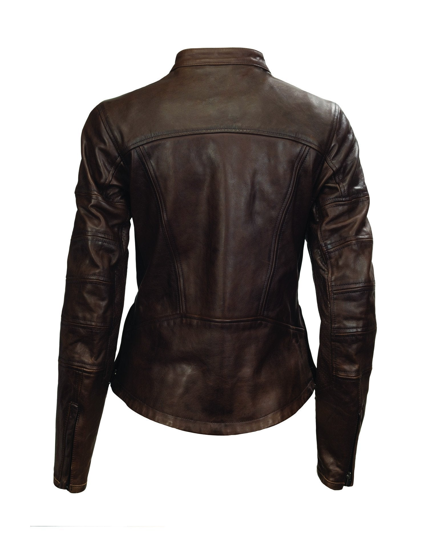 Roland Sands Design - Roland Sands Design Maven Tobacco Leather Jacket - Ladies Jackets - Salt Flats Clothing