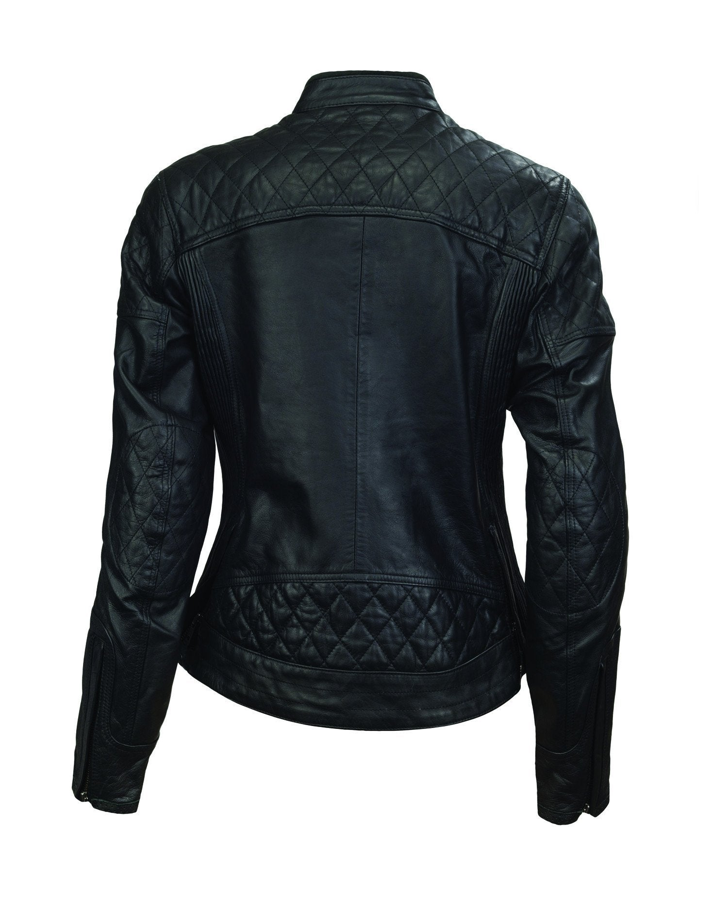 Roland Sands Design - Roland Sands Design Riot Ladies Black Leather Jacket - Ladies Jackets - Salt Flats Clothing