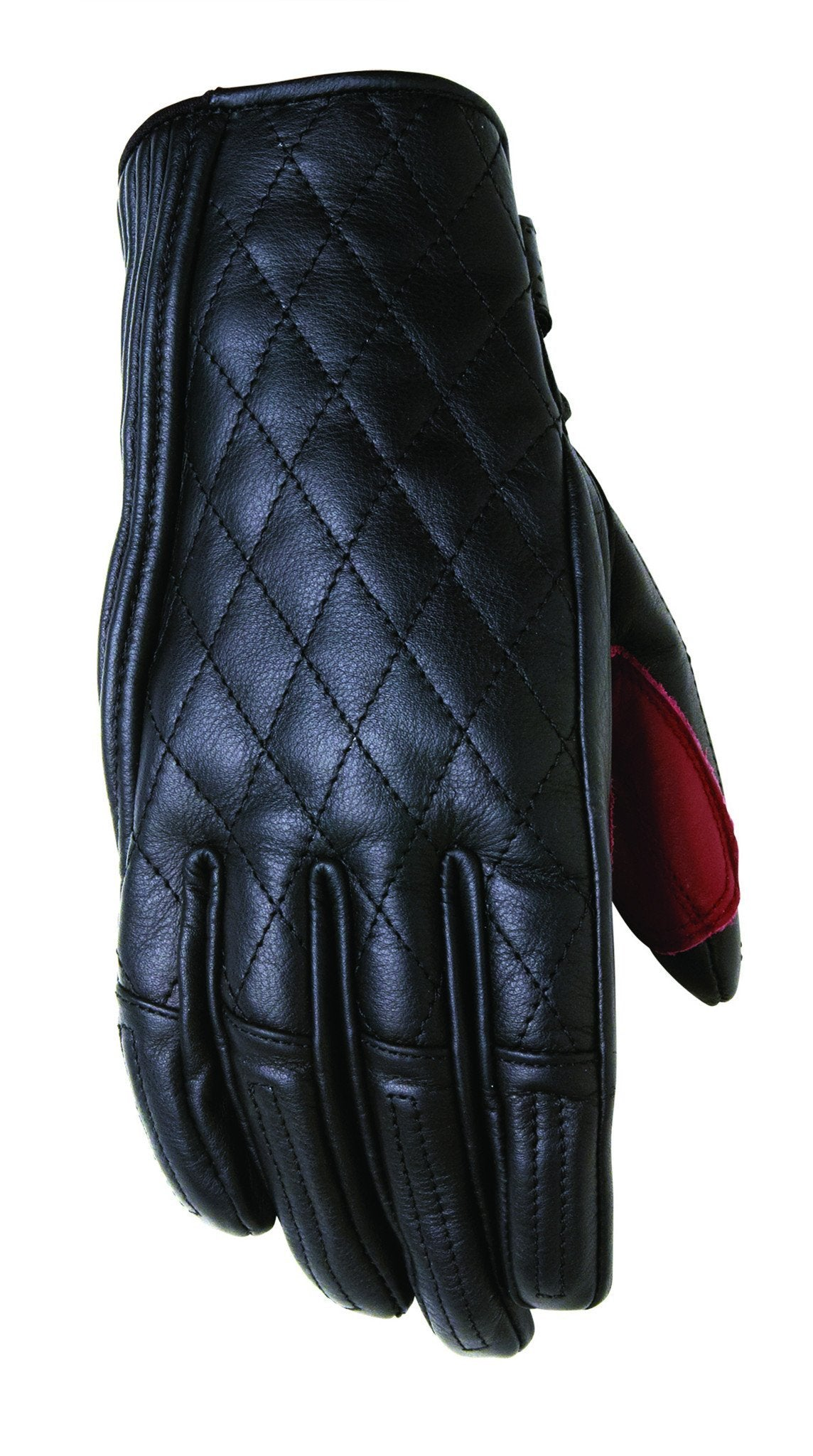 Roland Sands Design - Roland Sands Design Riot Ladies Gloves - Black - Gloves - Salt Flats Clothing