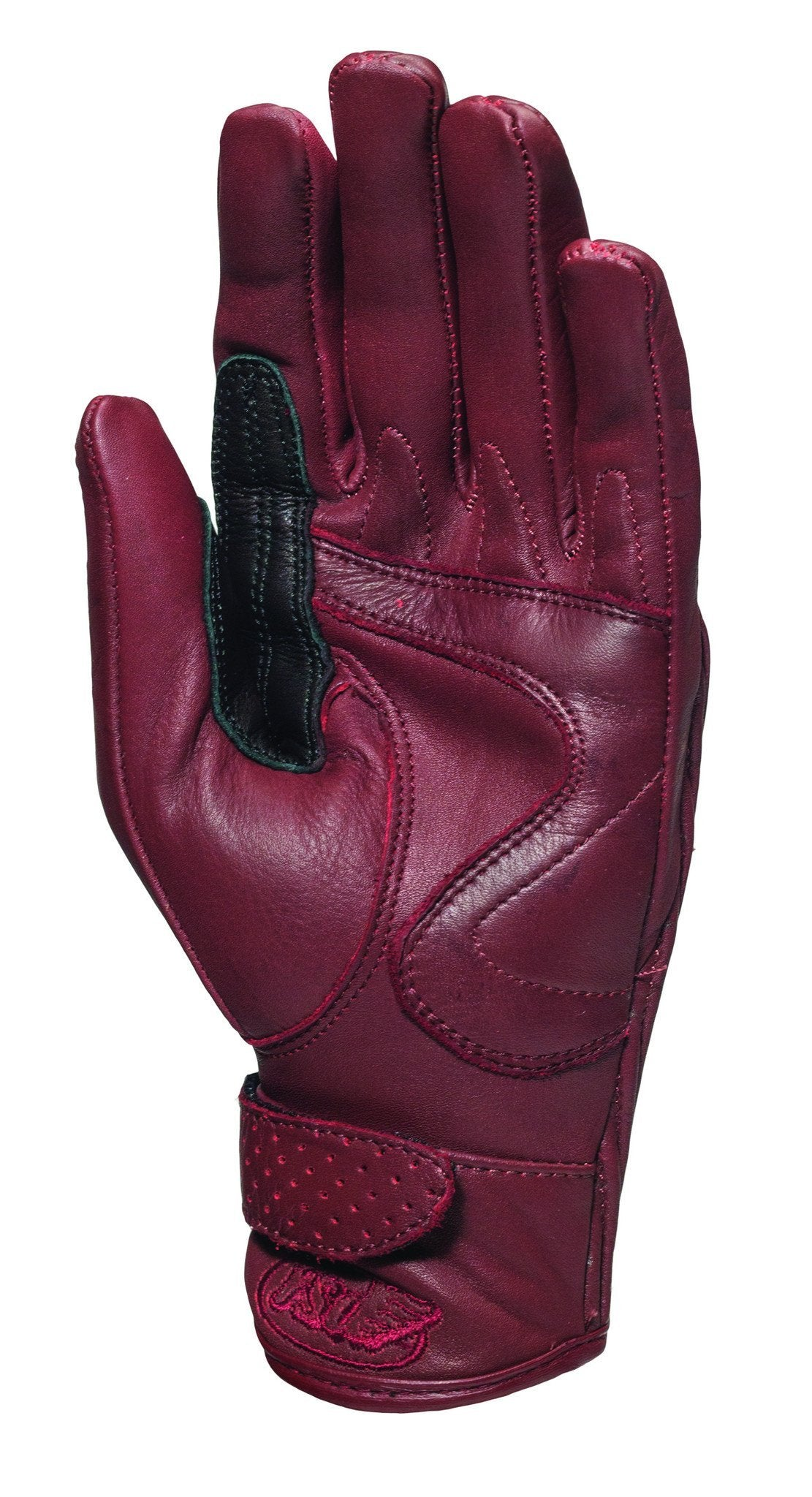 Roland Sands Design - Roland Sands Design Riot Ladies Gloves - Oxblood - Gloves - Salt Flats Clothing