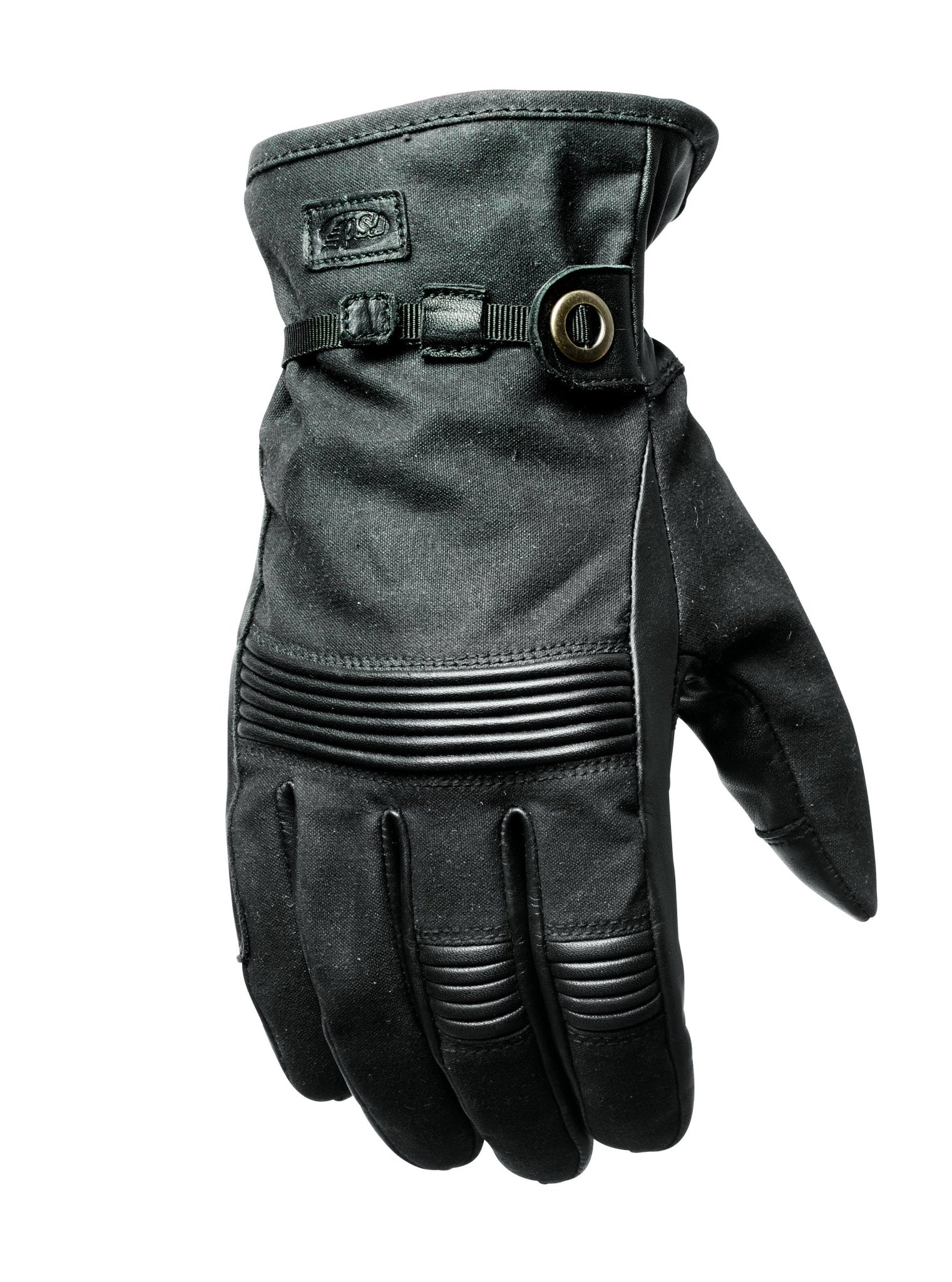 Roland Sands Design - Roland Sands Design Truman Black Gloves - Gloves - Salt Flats Clothing