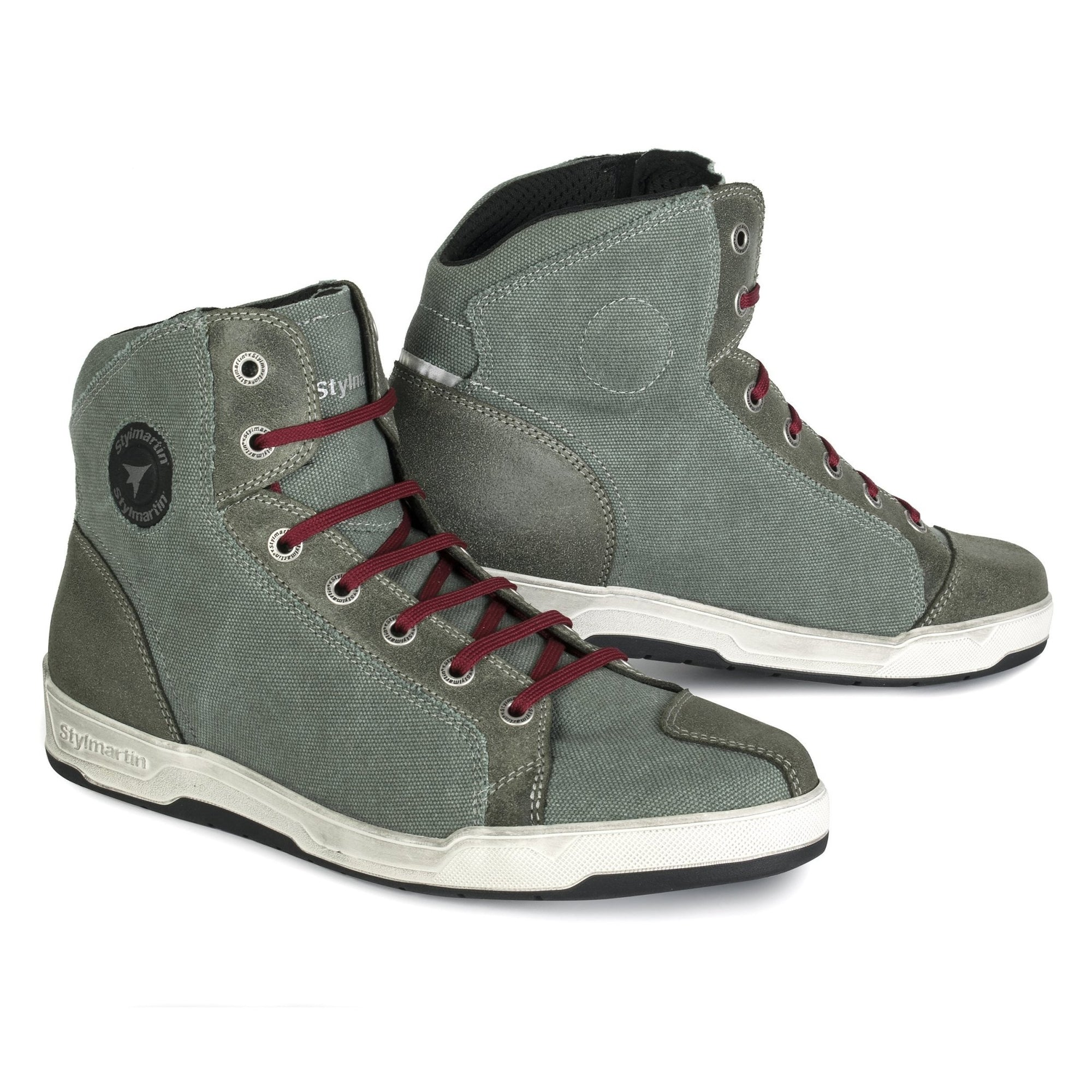 Stylmartin - Stylmartin Arizona Sneaker in Green - Boots - Salt Flats Clothing