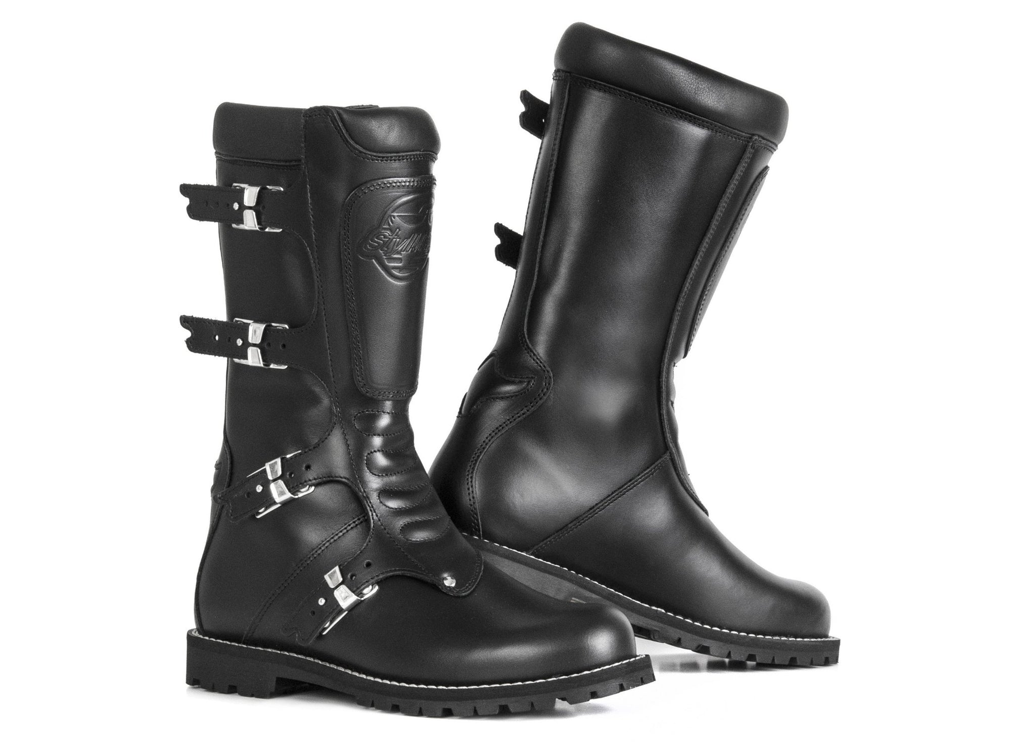 Stylmartin - Stylmartin Continental WP Touring in Black - Boots - Salt Flats Clothing