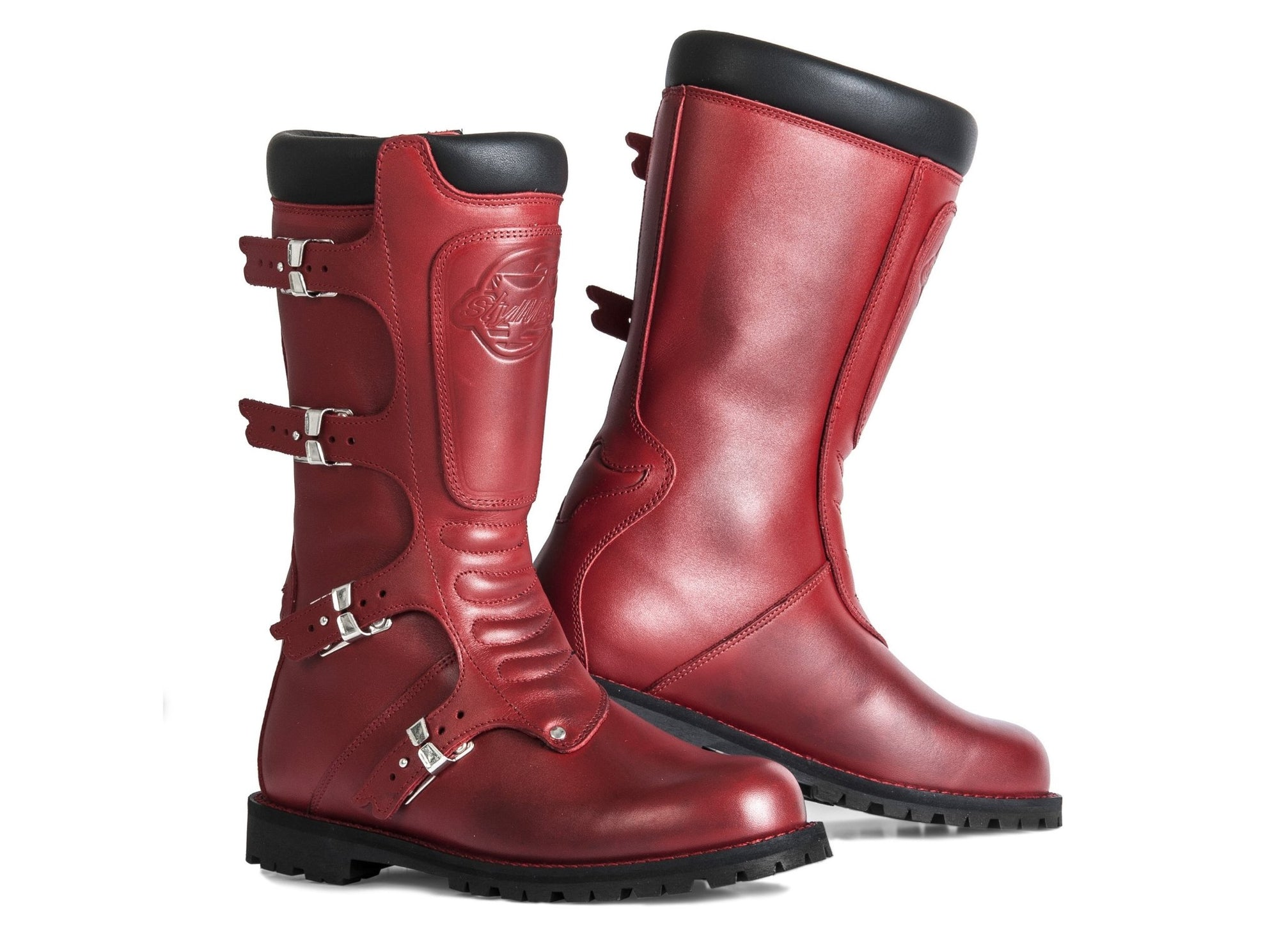 Stylmartin - Stylmartin Continental WP Touring in Red - Boots - Salt Flats Clothing