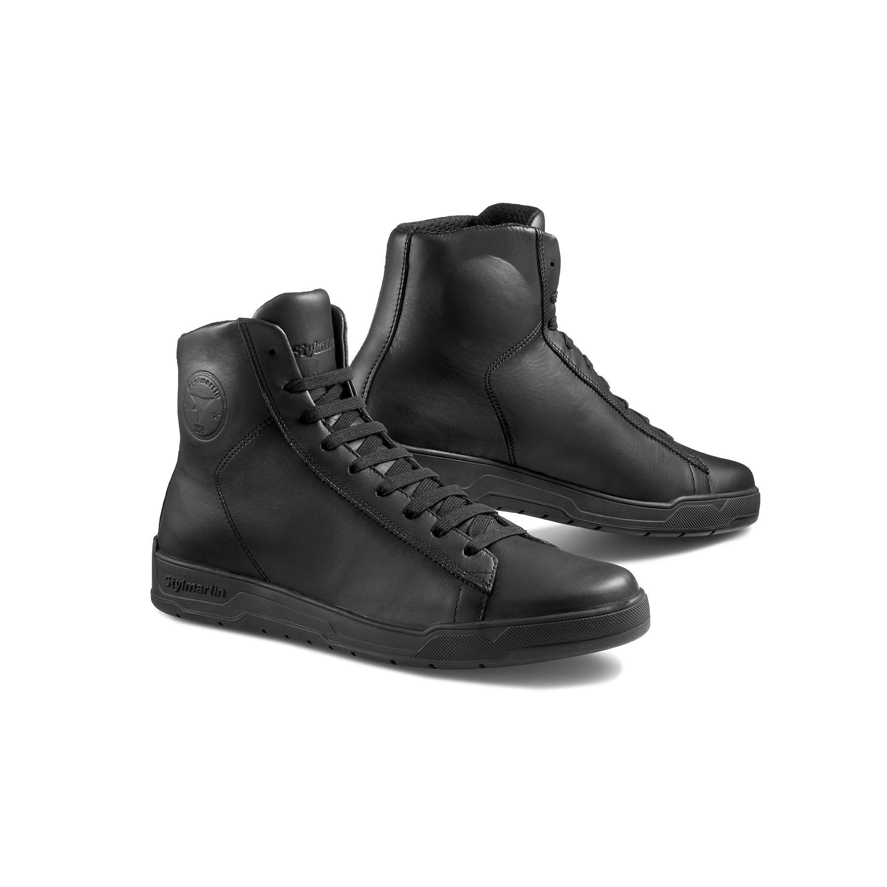 Stylmartin - Stylmartin Core WP Sneaker in Black - Boots - Salt Flats Clothing