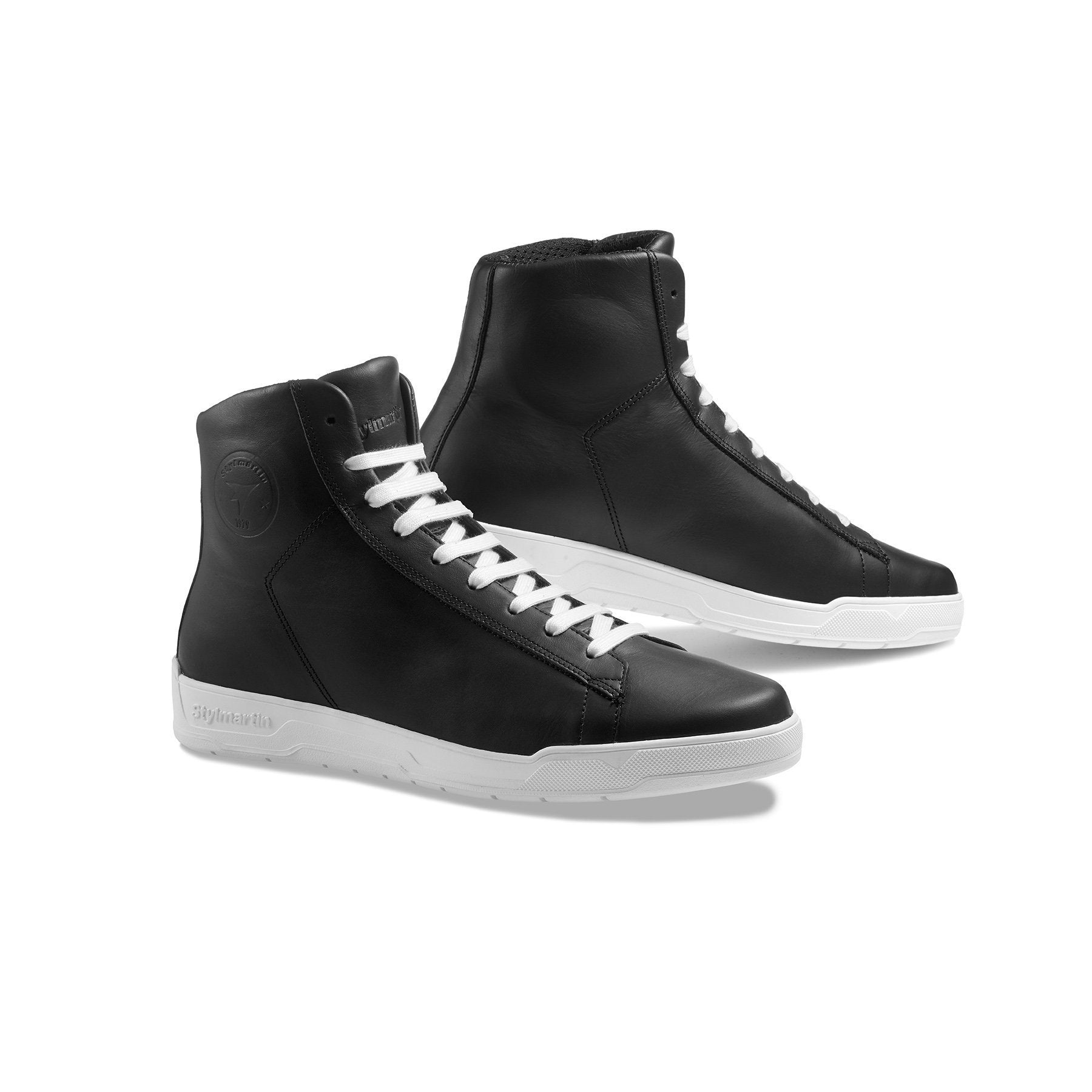 Stylmartin - Stylmartin Core WP Sneaker in Black and White - Boots - Salt Flats Clothing