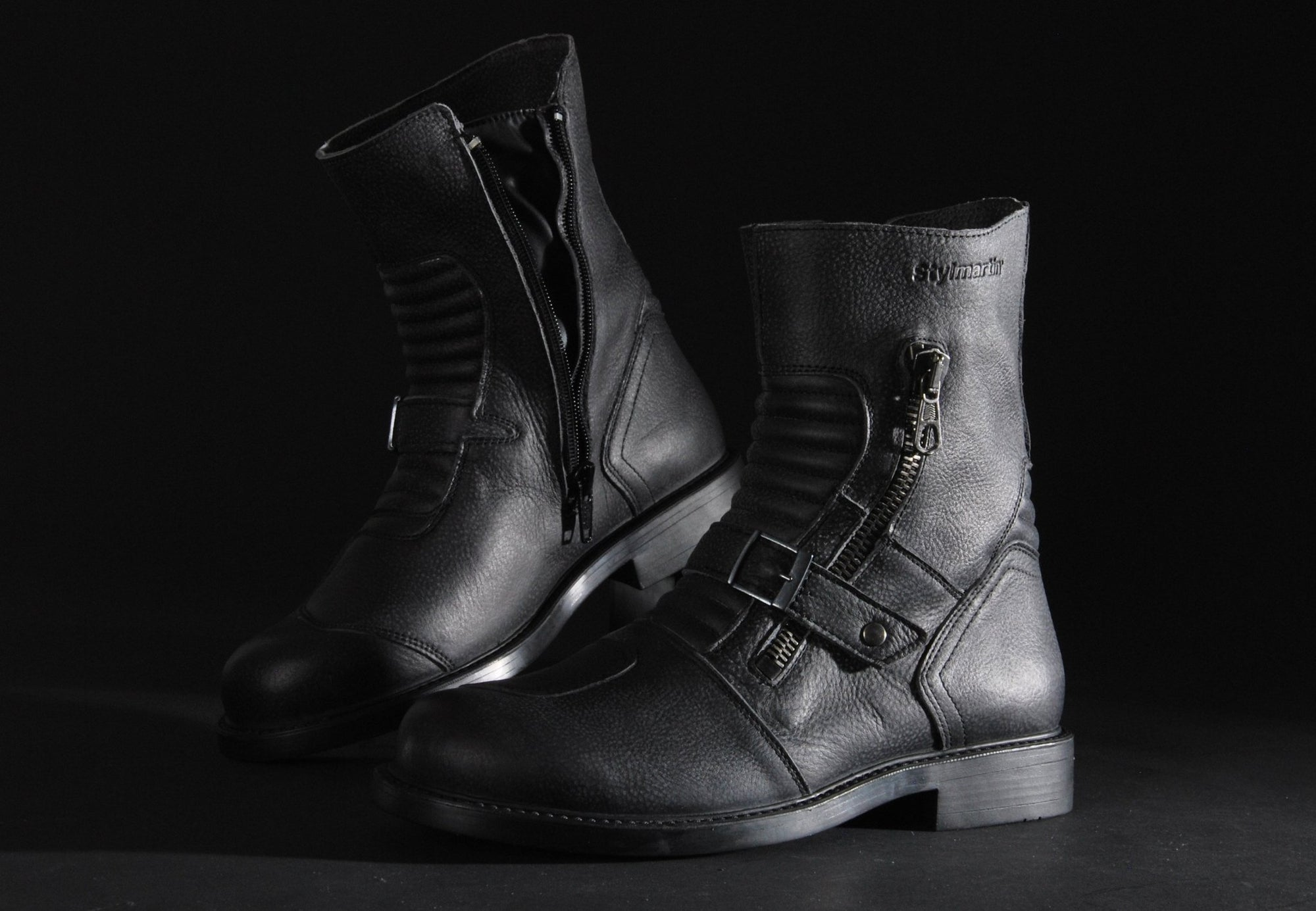Stylmartin - Stylmartin Cruise WP Urban in Black - Boots - Salt Flats Clothing