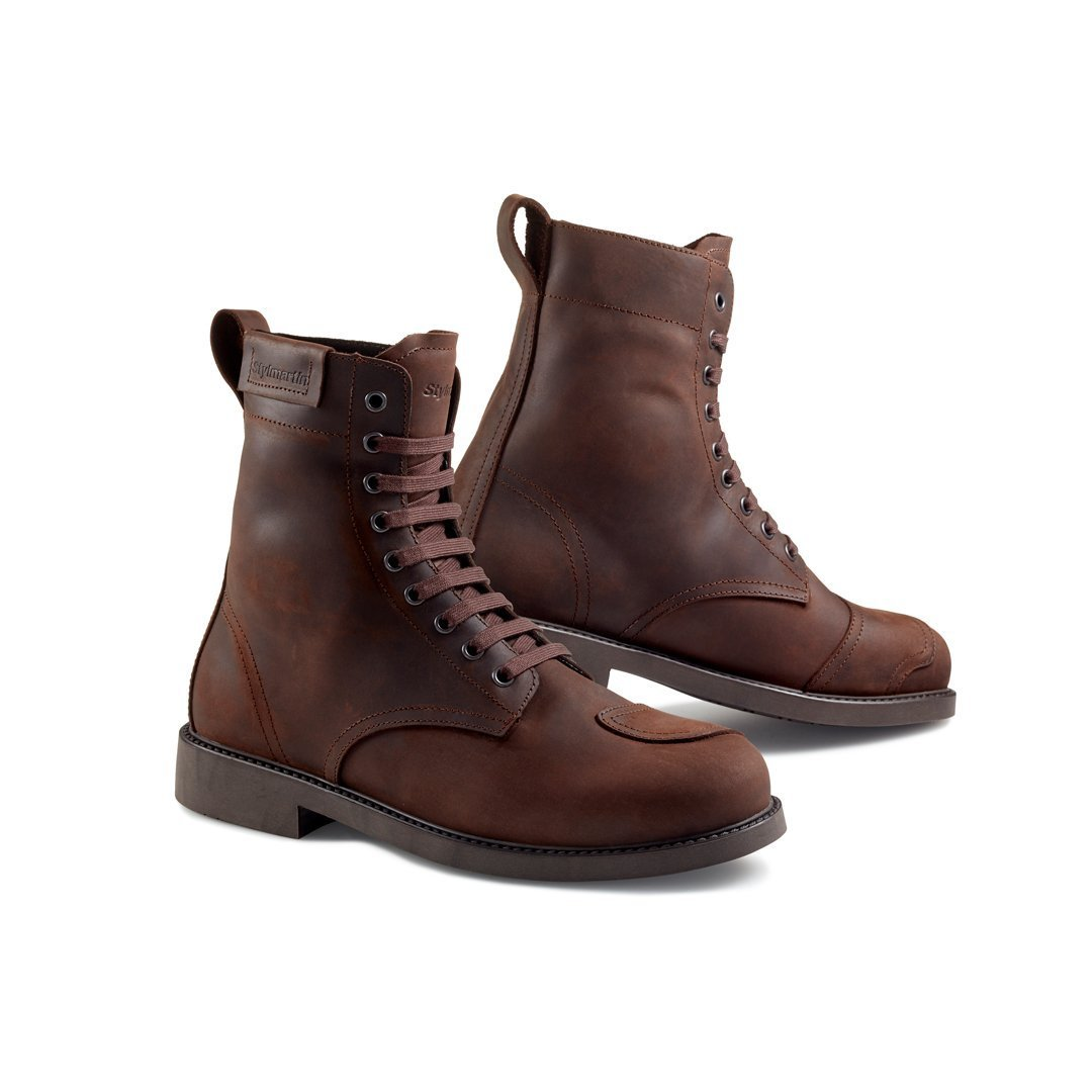 Stylmartin - Stylmartin District WP Urban Boot in Brown - Boots - Salt Flats Clothing
