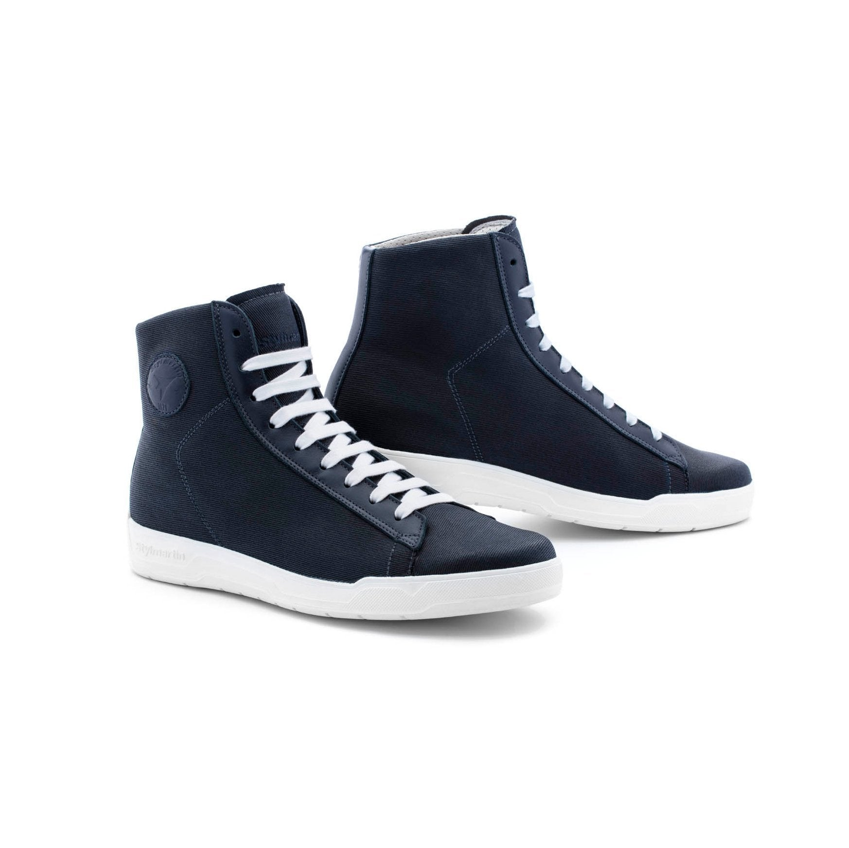 Stylmartin - Stylmartin Grid Sneaker in Blue - Boots - Salt Flats Clothing