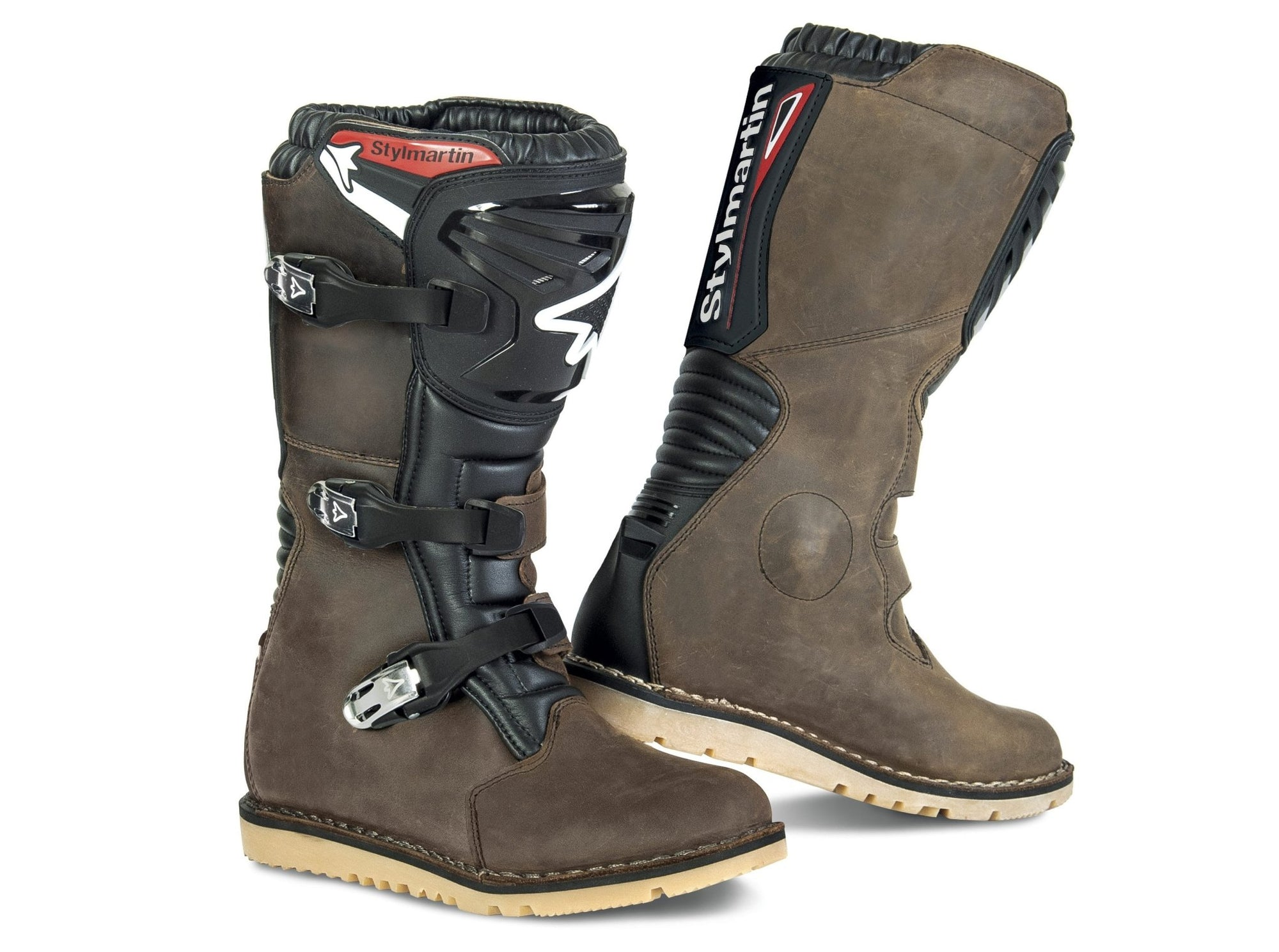 Stylmartin - Stylmartin Impact RS WP Off Road in Brown - Boots - Salt Flats Clothing