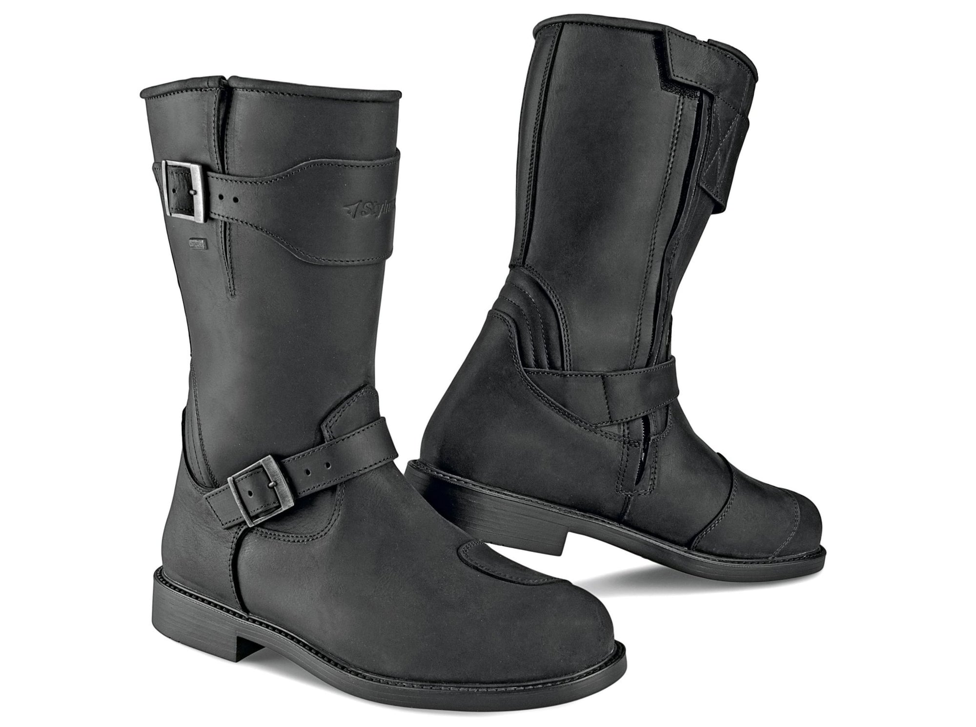Stylmartin - Stylmartin Legend WP Touring in Black - Boots - Salt Flats Clothing