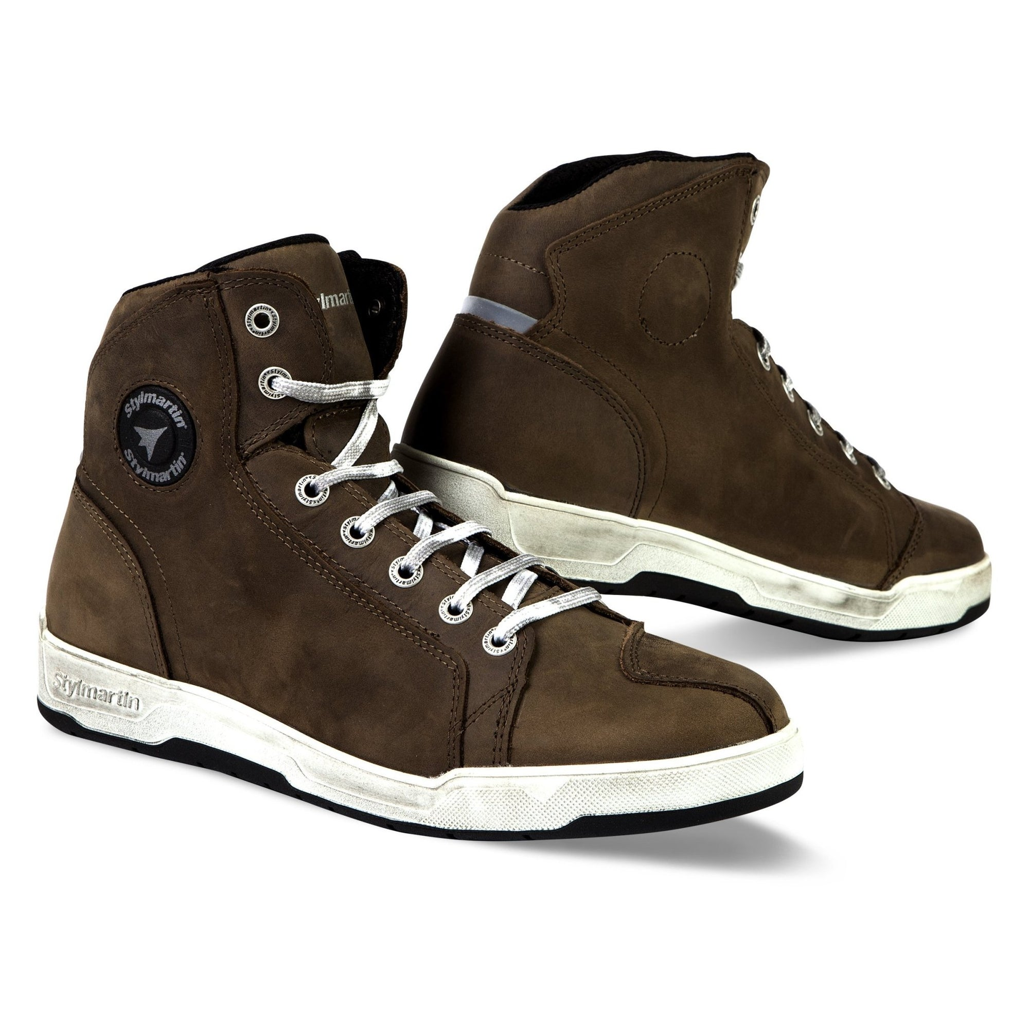 Stylmartin - Stylmartin Marshall WP Sneaker in Brown - Boots - Salt Flats Clothing