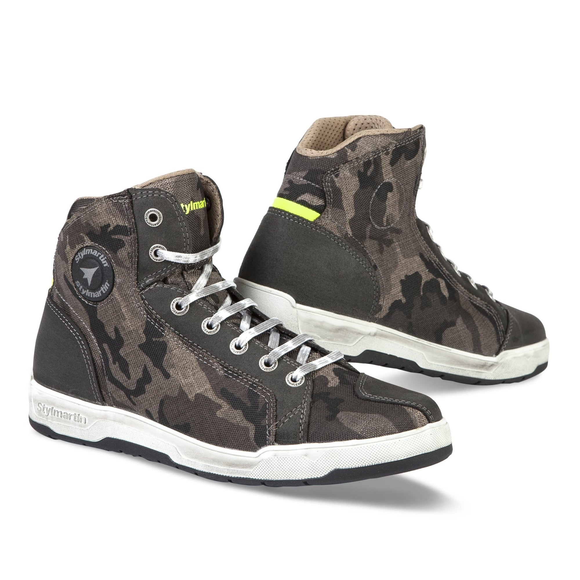 Stylmartin - Stylmartin Raptor Evo WP Sneaker in Camo - Boots - Salt Flats Clothing