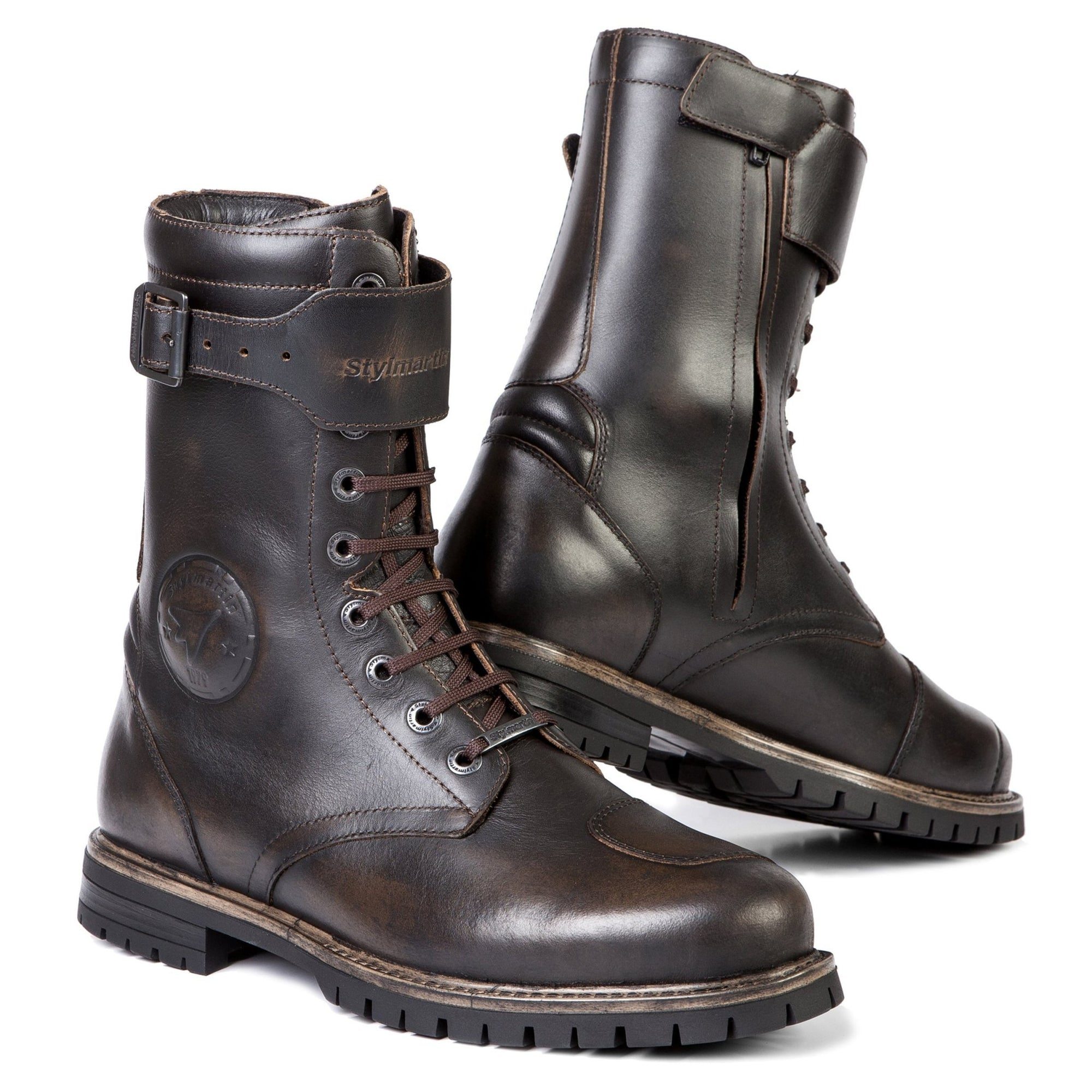 Stylmartin - Stylmartin Rocket WP Urban in Brown - Boots - Salt Flats Clothing
