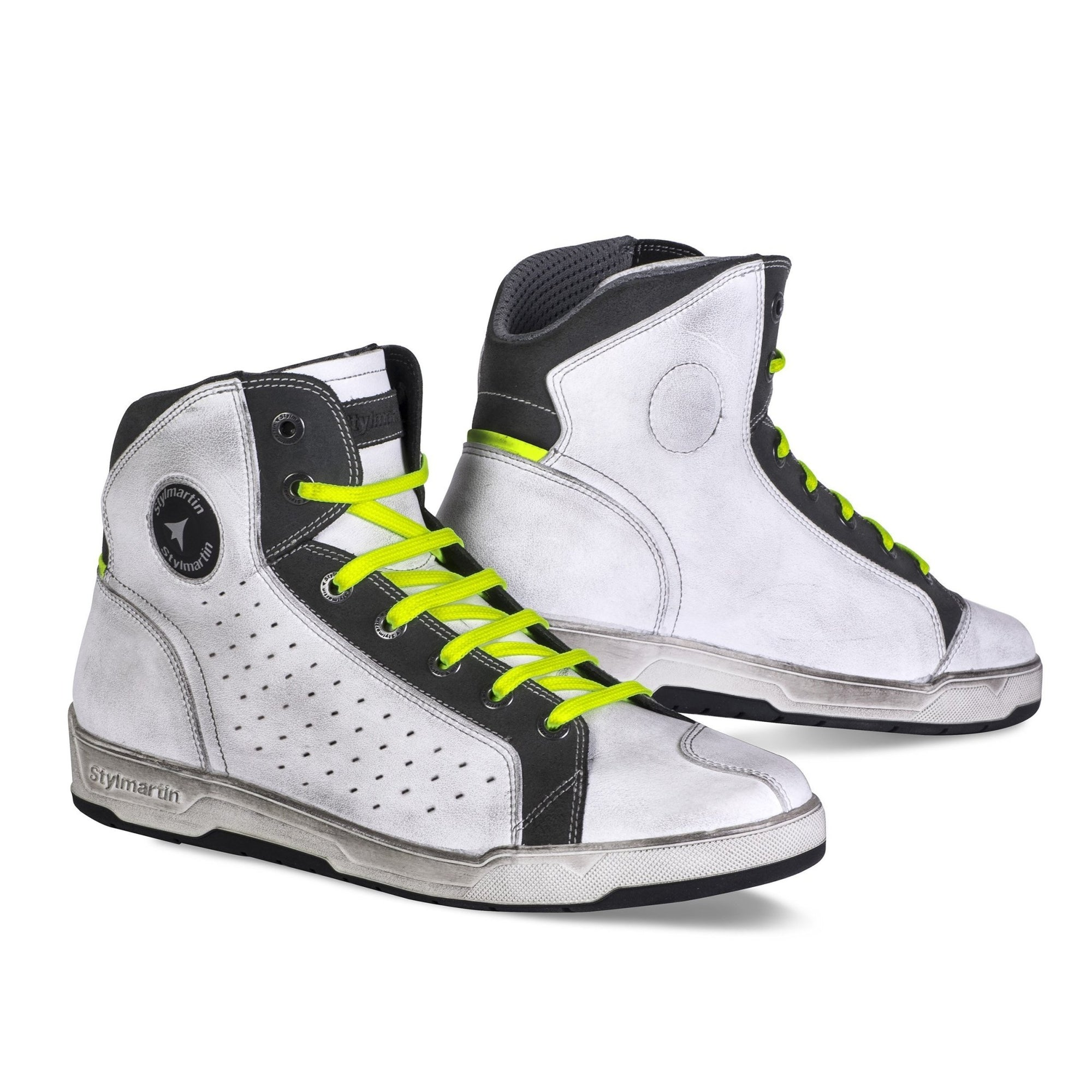 Stylmartin - Stylmartin Sector Sneaker in White - Boots - Salt Flats Clothing