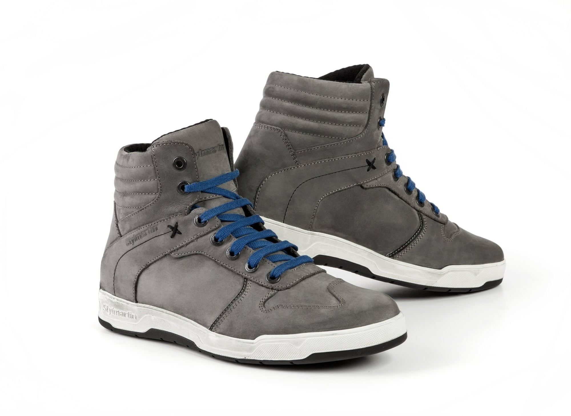 Stylmartin - Stylmartin Smoke WP Sneaker in Grey - Boots - Salt Flats Clothing