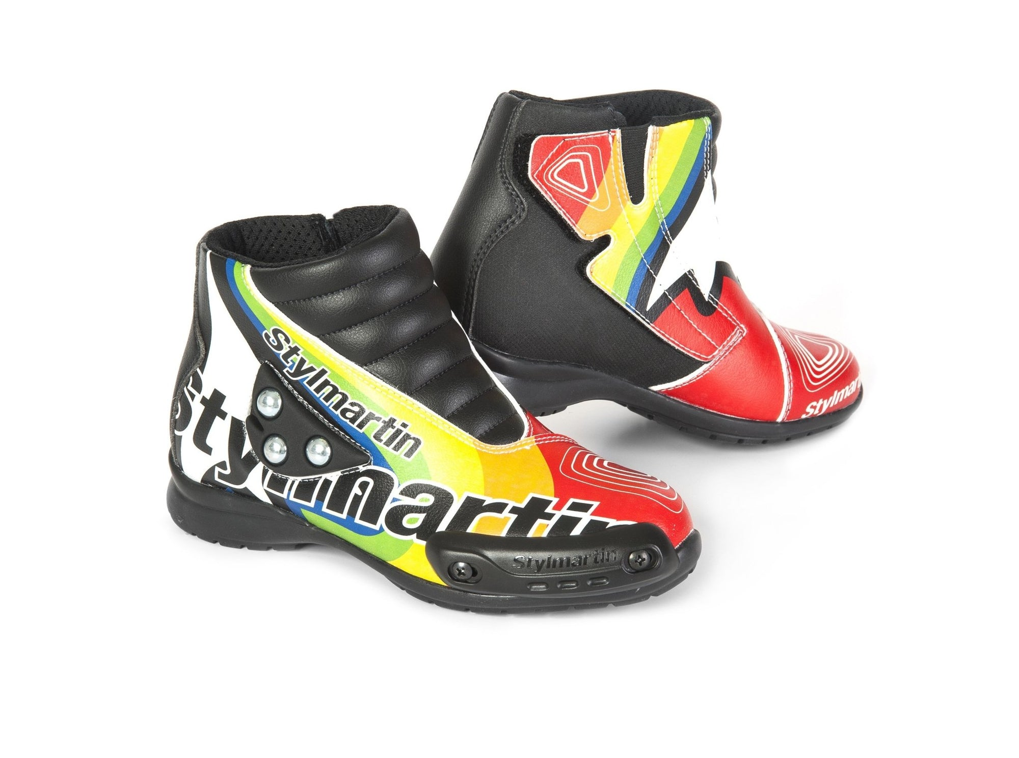 Stylmartin - Stylmartin Speed Jr S1 Minimoto Multicolour - Boots - Salt Flats Clothing
