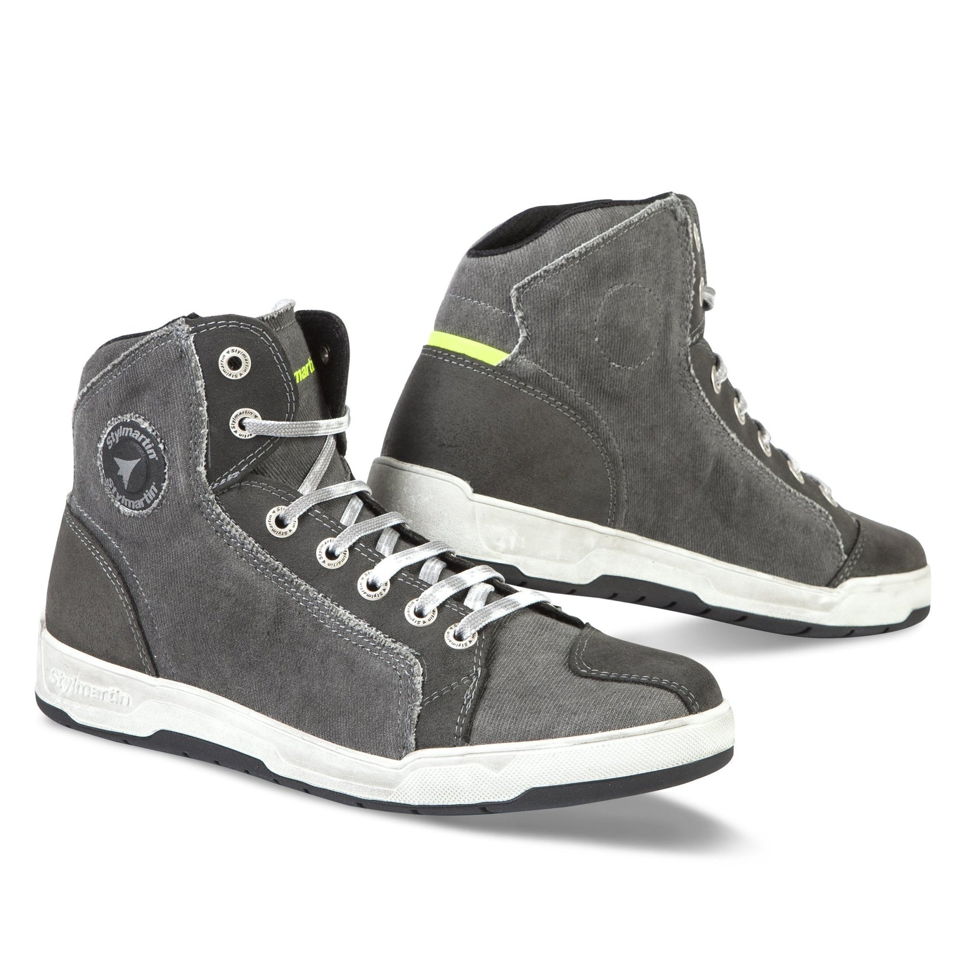 Stylmartin - Stylmartin Sunset Evo Sneaker in Grey - Boots - Salt Flats Clothing