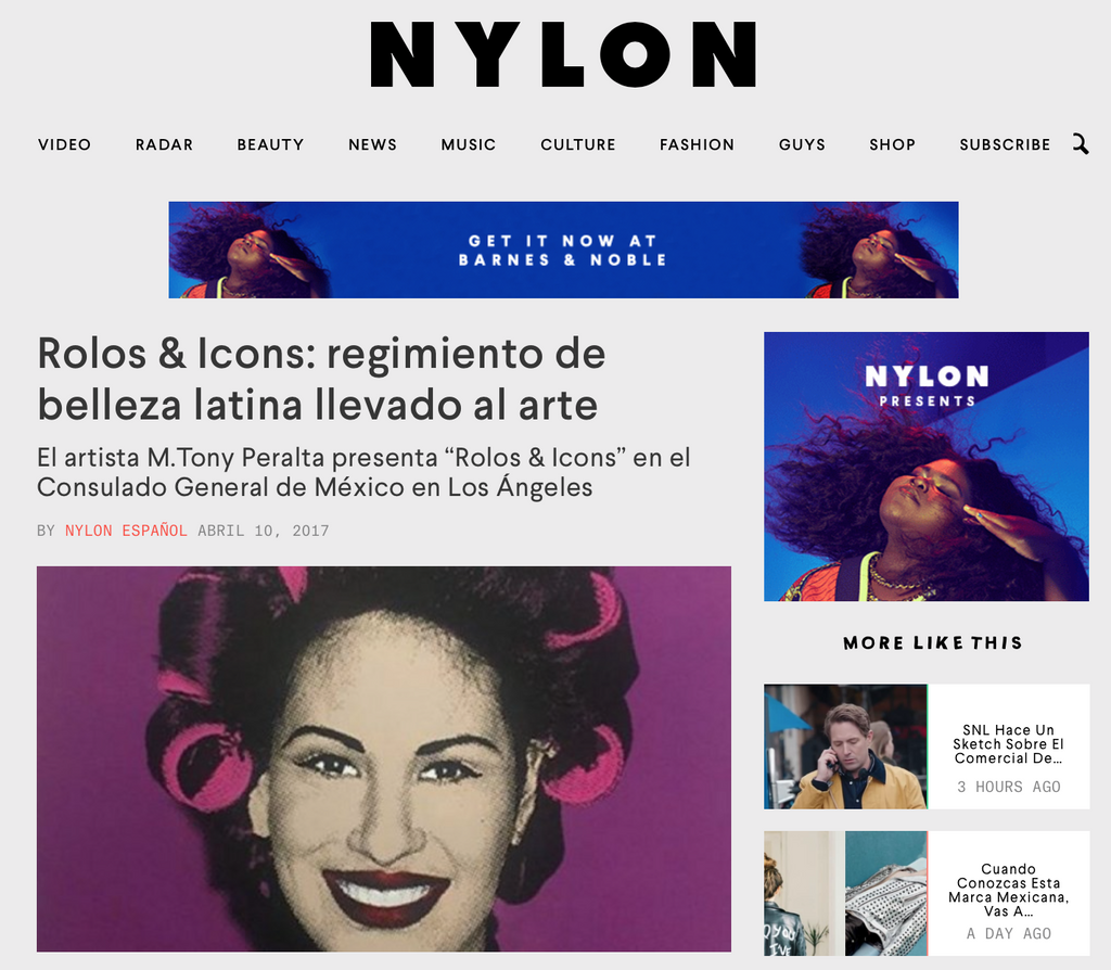 ROLOS & ICONS ll ON NYLON EN ESPAÑOL AND LIVEFAST MAG