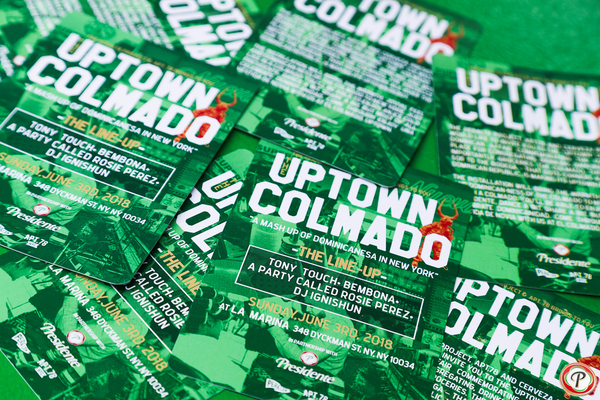 Uptown Colmado: brought to you by The Peralta Project x APT.78 x Cerveza Presidente