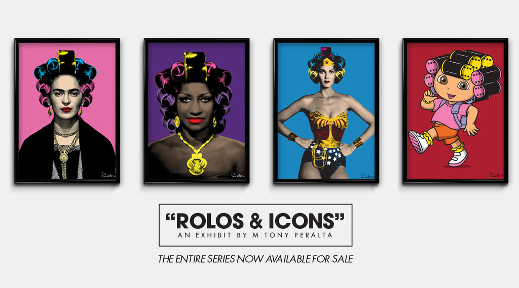 ROLOS AND ICONS  POSTERS