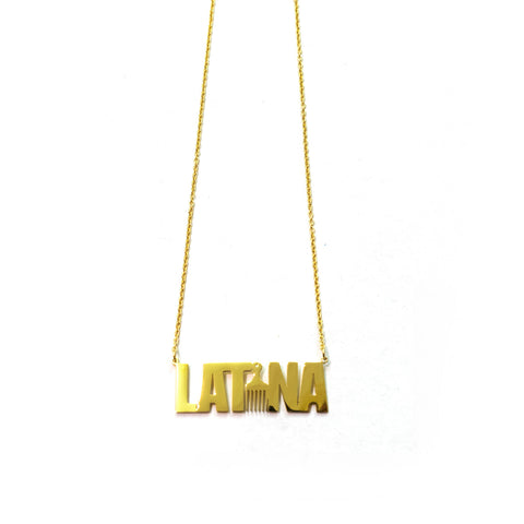 AFRO-LATINA NECKLACE
