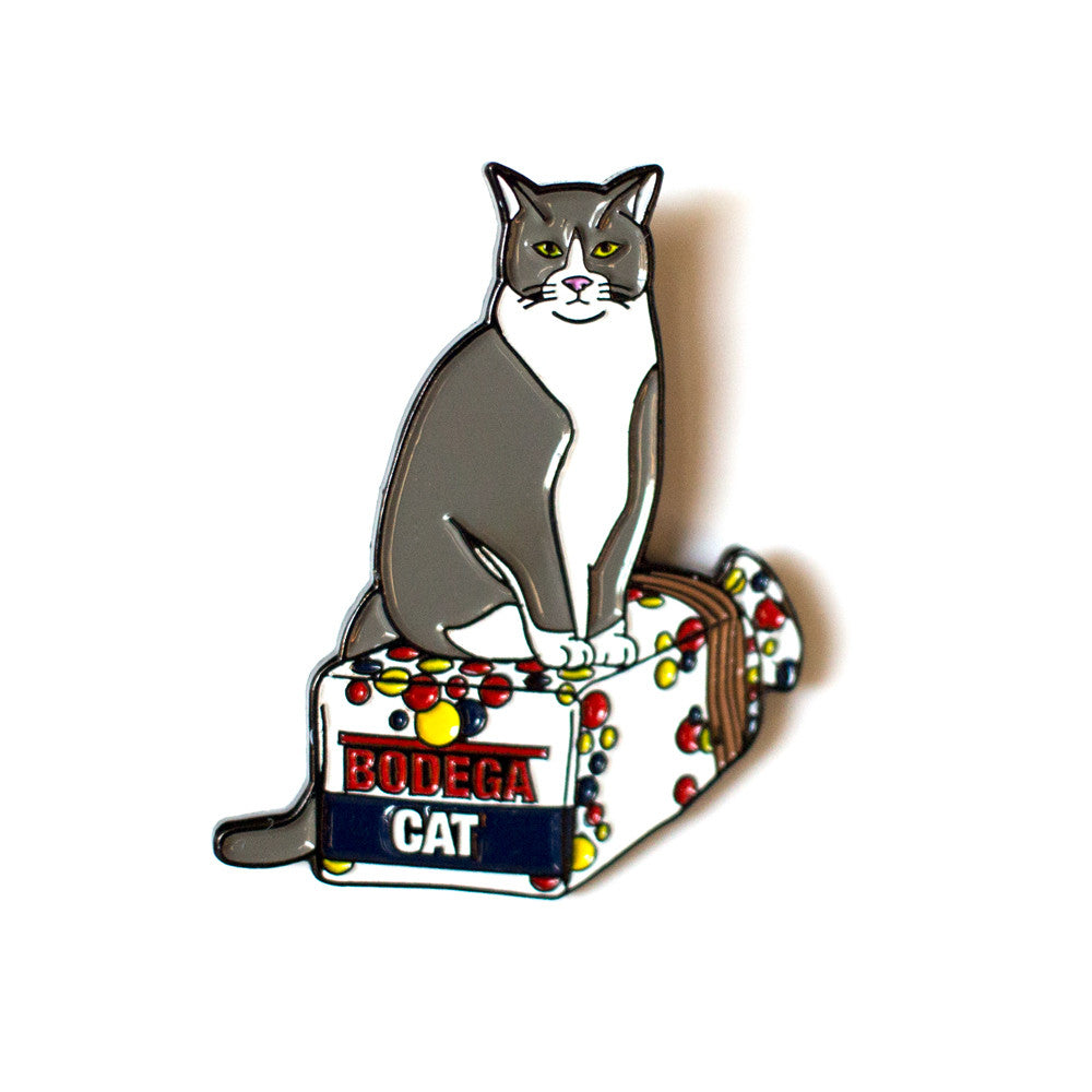 BODEGA CAT PIN