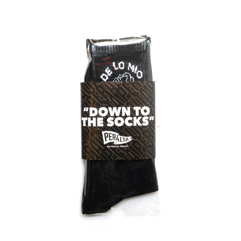 DE LO MIO COTTON CREW SOCKS