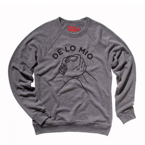 DE LO MIO FLEECE CREWNECK