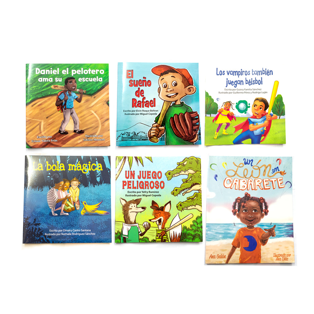 DOMINICAN CHILDREN BOOKS (PACK)