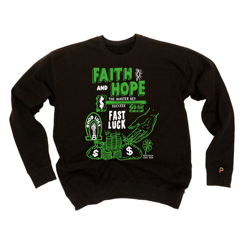 HOPE & FAITH CREWNECK