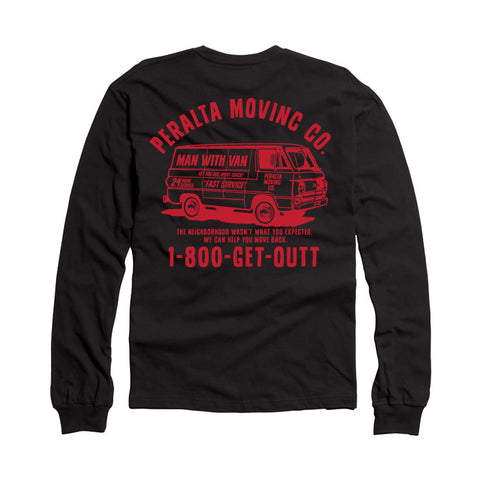 PERALTA MOVING CO. LONG SLEEVE TEE