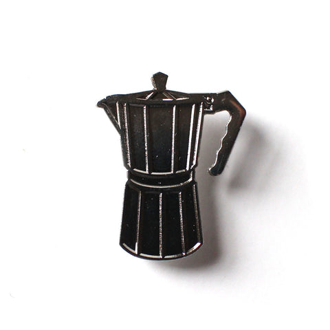 GRECA (COFFEE MAKER) SILVER PIN