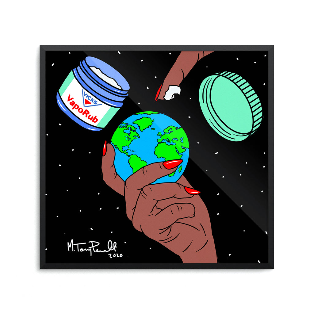 "16"" x 16"" HEAL THE WORLD 2020 POSTER"