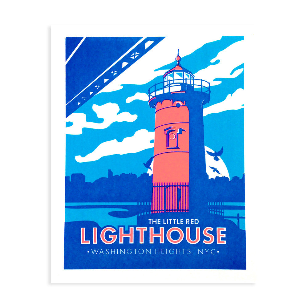 Little Red Lighthouse Print