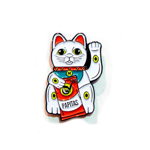 LUCKY BODEGA CAT PIN