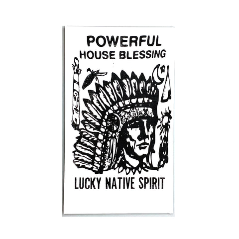 "LUCKY NATIVE SPIRIT 10"" x 17"" Stretch Frame"