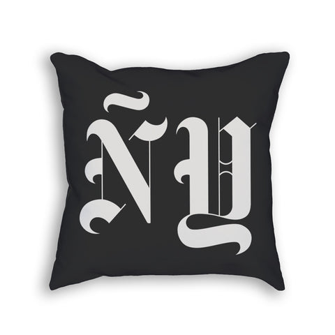 ÑY TIMES THROW PILLOW