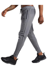 Mens Grey Work Out Pants - ICE9
