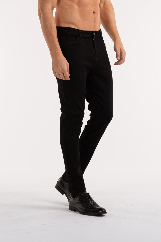 The Blackice Jeans - Black - ICE9