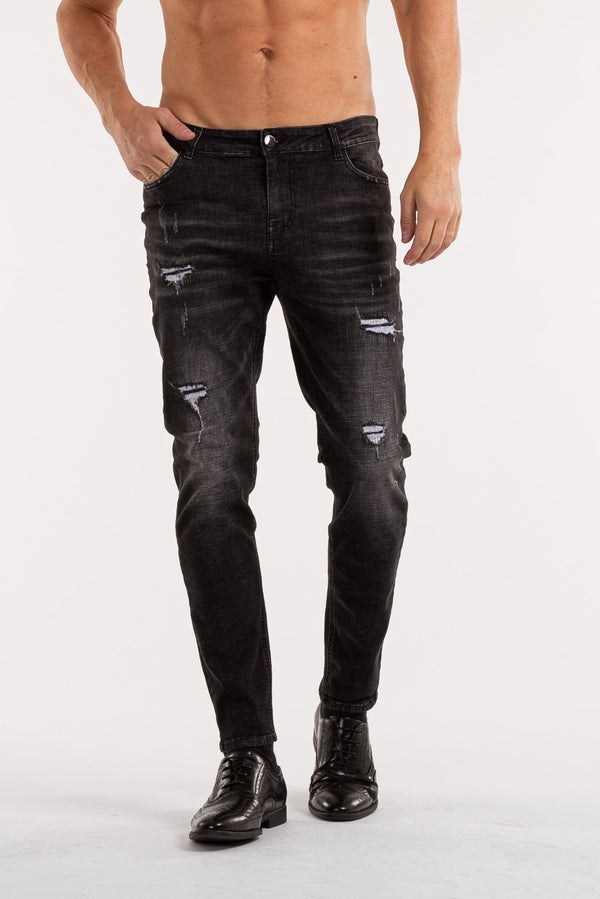 The Cosca Jeans - Black - ICE9