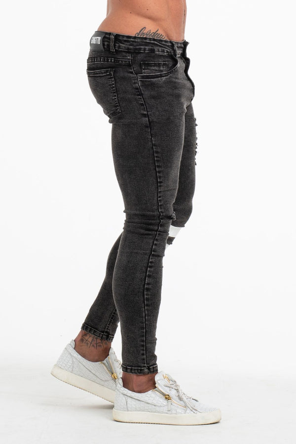 The Zlato Jeans - Black - ICE9