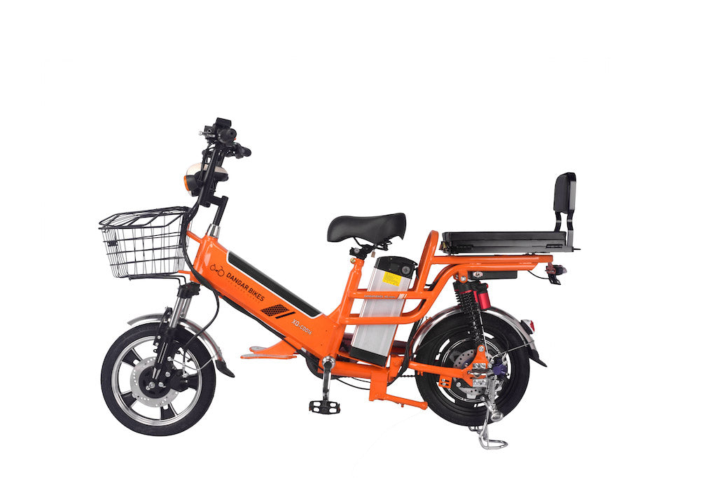 "XQ-CDD20.  20"" WHEEL 12+30ah/48v Double Lithium Batteries 350w/48v Hydraulic Suspension Delivery Electric Bike"
