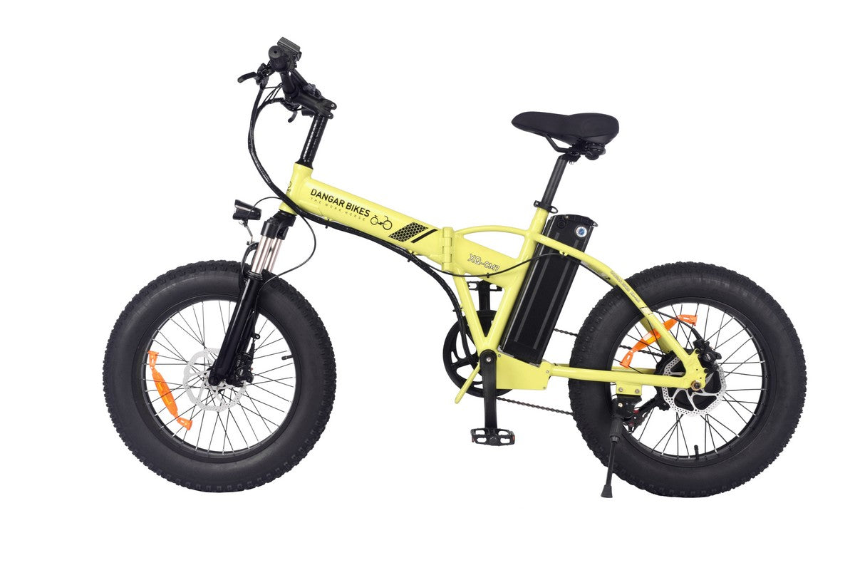 "XQ-CM7 TERRAIN 20"" FAT TIRE MOUNTAIN BIKE 350W/48V MOTOR 48V/10.4AH LITHIUM BATTERY FOLDING E-BIKE"