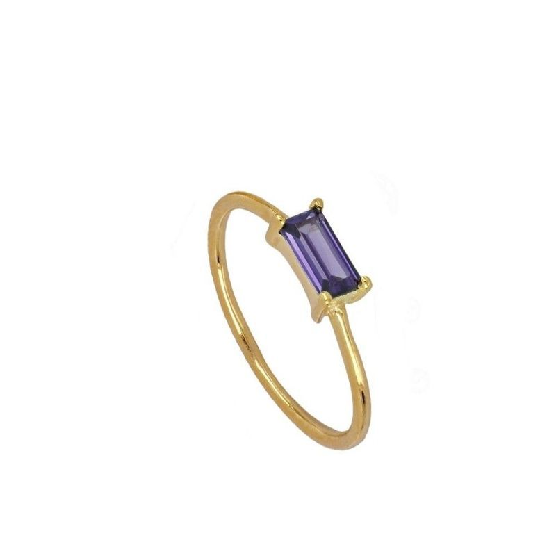 Anillo Glass Violet