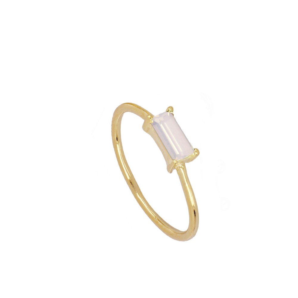 Anillo Glass Baby Pink